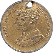 Medal - George VI and Elizabeth Coronation – obverse