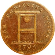 ½ Penny (Middlesex - London / Coventry Street) – obverse