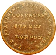 ½ Penny (Middlesex - London / Coventry Street) – reverse