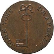½ Penny (Glamorganshire – Swansea / J. Voss) – reverse