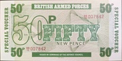 50 New Pence - British Armed Forces (6th series) – obverse