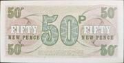 50 New Pence - British Armed Forces (6th series) – reverse