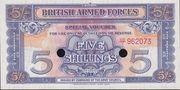 5 Shillings - British Armed Forces (2nd series) – obverse