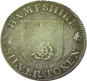 6 Pence (Hampshire - To Facilitate Trade) – obverse