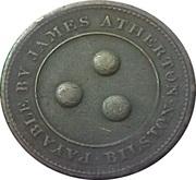 1 Penny (Staffordshire - Bilston / J. Atherton) – obverse
