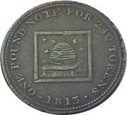 1 Penny (Staffordshire - Bilston / J. Atherton) – reverse