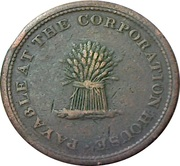 1 Penny (Norfolk - Smallburgh / Tunstead & Happing) – reverse