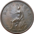 1 Farthing - George III (4th issue) – reverse