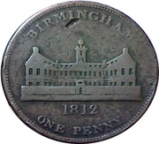 1 Penny (Birmingham - Payable At The Workhouse) – obverse