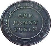 1 Penny (Birmingham - Union Copper Company) – reverse