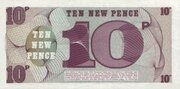 10 New Pence - British Armed Forces (6th Series) – reverse