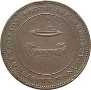 2 Pence (Norwich - Robert Blake) – obverse