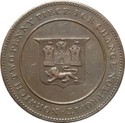 2 Pence (Norwich - Robert Blake) – reverse