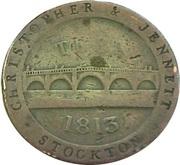 1 Penny (Stockton - Christopher & Jennett) – obverse