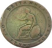 1 Penny (Stockton - Christopher & Jennett) – reverse