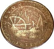 1 Penny (Tavistock - Devon Mines) – reverse