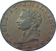 ½ Penny (Middlesex - Kilvington) – obverse