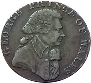 ½ Penny (Middlesex - National Series / Prince of Wales) -  obverse