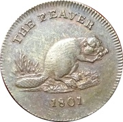 1 Farthing (Middlesex - Pidcock / Exeter Change) – reverse
