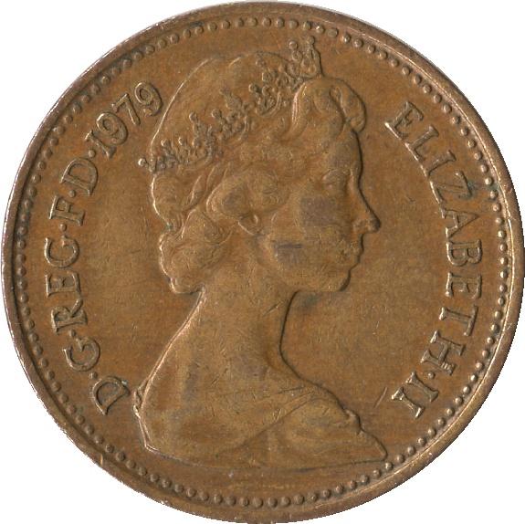 1 new penny elizabeth ii 2nd portrait united kingdom for One penny homes