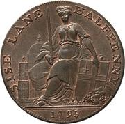 ½ Penny (Middlesex - London / Davidson's) – obverse