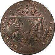 ½ Penny (Middlesex - London / Davidson's) – reverse