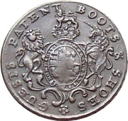 ½ Penny (Middlesex - London / Guest's) – obverse