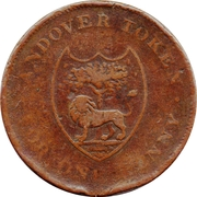 1 Penny (Hampshire - Andover / W.S. & I. Wakeford) – obverse