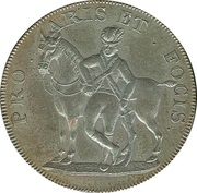½ Penny (Suffolk - Hoxne / Yeomanry) – obverse