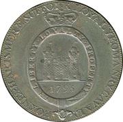½ Penny (Suffolk - Hoxne / Yeomanry) – reverse