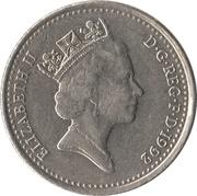 10 Pence - Elizabeth II (3rd portrait; small type) -  obverse