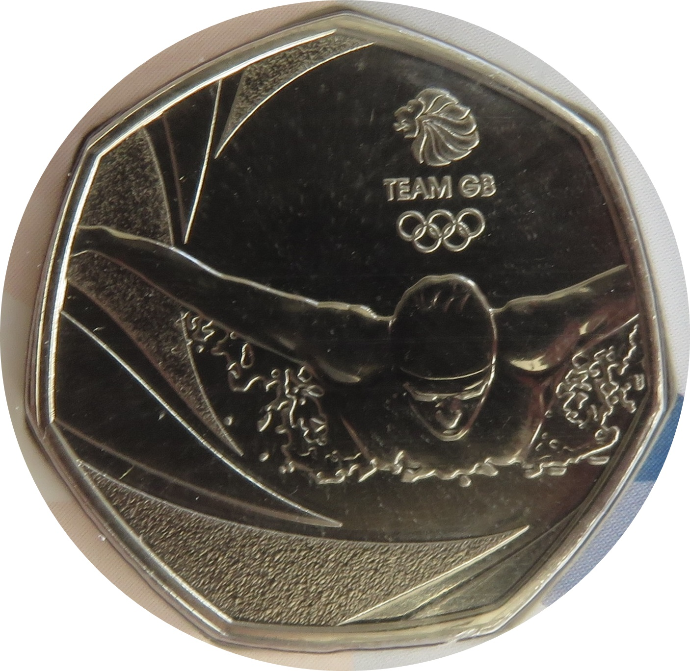2016 OLIMPIC GB TEAM - 50p Coin - GB Rare Coin Hunt