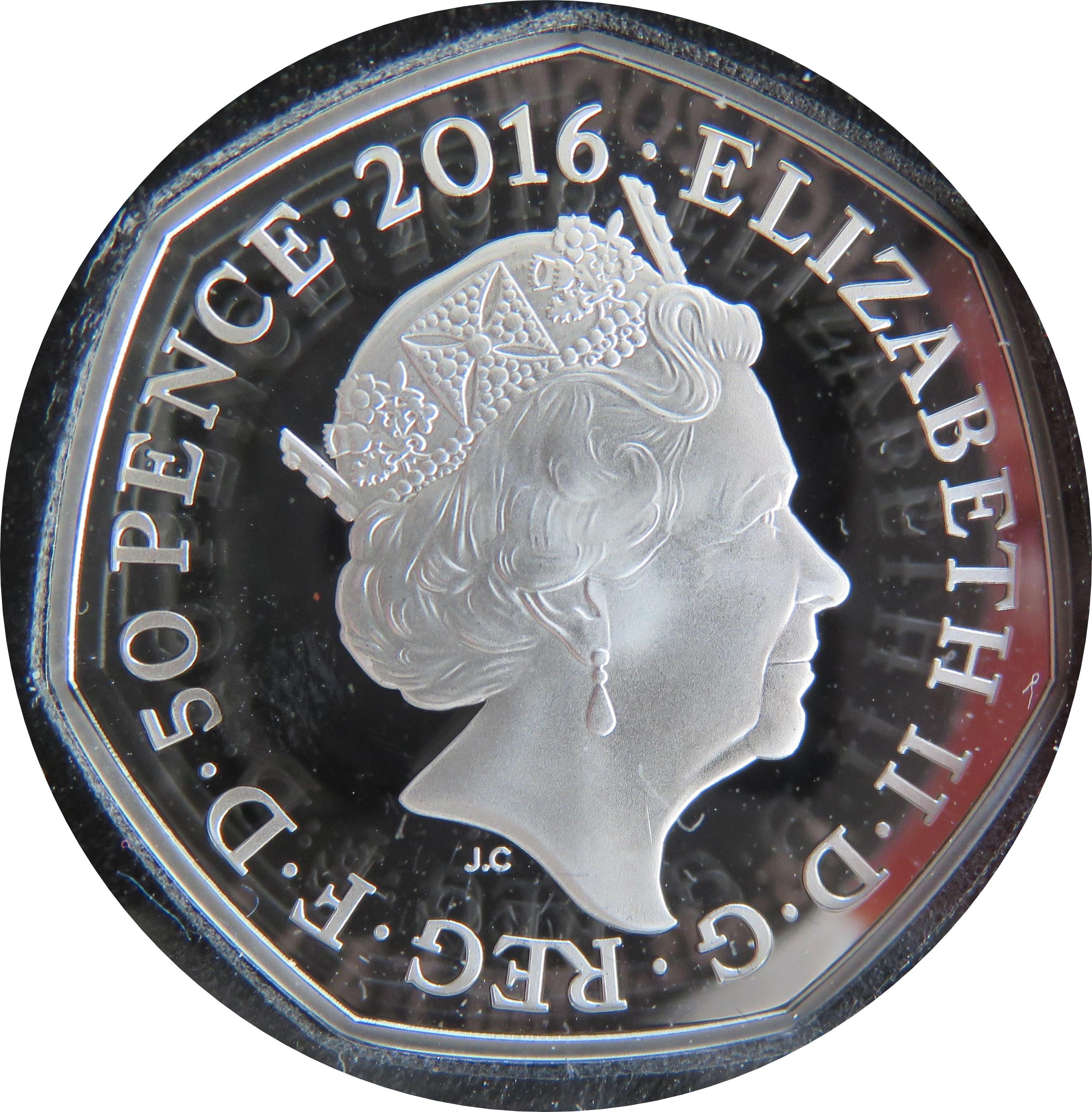 Elizabeth II (Team GB Olympics; Silver Proof