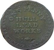 1 Penny (Yorkshire - Hull / I.K. Picard) – reverse