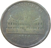 1 Penny (Worcestershire - Birmingham / Workhouse) – obverse