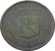 1 Penny (Worcestershire - Birmingham / Workhouse) – reverse