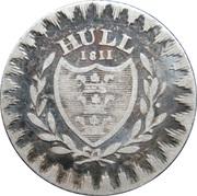 6 Pence (Yorkshire - Hull / Rudston & Preston) – obverse