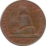 ½ Penny (Gloucestershire - Brimscombe Port) – obverse
