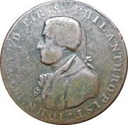 ½ Penny (Hampshire - Portsmouth / John Howard) – obverse