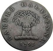½ Penny (Middlesex - London / Dennis') – obverse