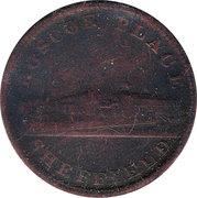 1 Penny (Yorkshire - Sheffield / Roscoe Place) – obverse