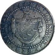 ½ Penny (Middlesex - London / Allen's) – obverse