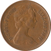 2 New Pence - Elizabeth II (2nd portrait) -  obverse