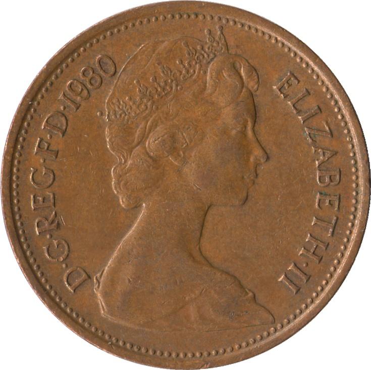 2 Pence - Elizabeth II (4th portrait; magnetic) - United