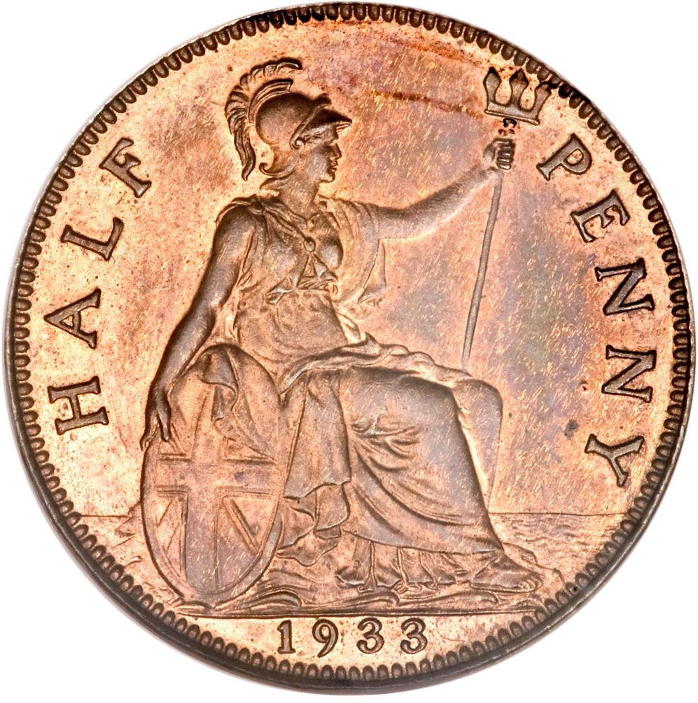 Penny george v small head united kingdom numista for One penny homes