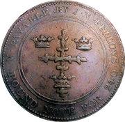 1 Penny (Nottingham - J M Fellows) – obverse