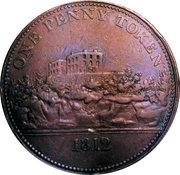 1 Penny (Nottingham - J M Fellows) – reverse