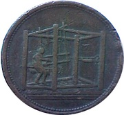 1 Penny (Yorkshire - Barnsley / Jackson and Listers Warehouse) – obverse