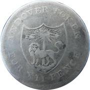 1 Shilling (Hampshire - Andover / Wakeford's) – obverse