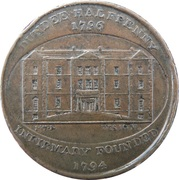 ½ Penny (Angusshire - Dundee / Infirmary) – obverse